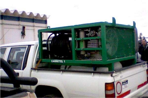Unidad compacta, para montaje en pick up. Equipamiento modelo MB99-28,