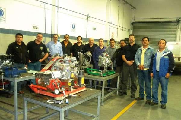 Curso de entrenamiento para servicio técnico de nuestra línea de compresores y accesorios para aire respirable Oceanic