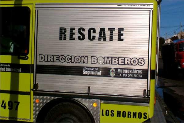 Equipamiento montado en Unidad de Bomberos de la Provincia de Buenos Aires.