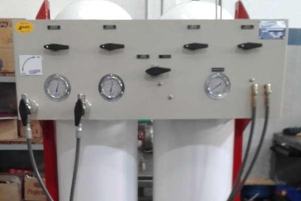 Sistema de acumulación de aire respirable, en cascada, estacionarios.